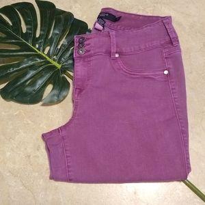Torrid plum skinny jeans